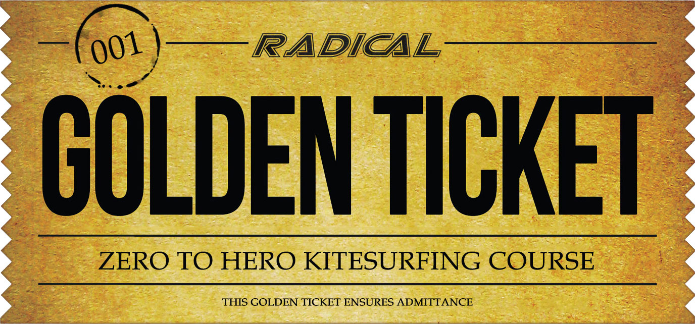 golden kitesurf ticket