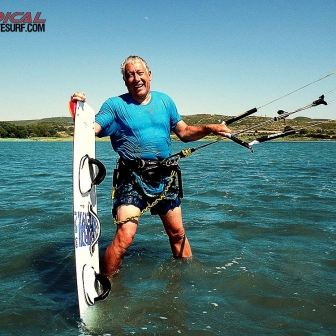 There are no age restrictions when it comes to kiteboarding