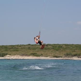 Kitesurfing combo
