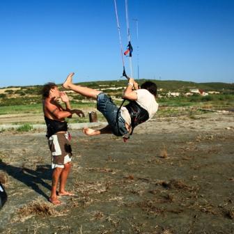 Kitesurfing ninja