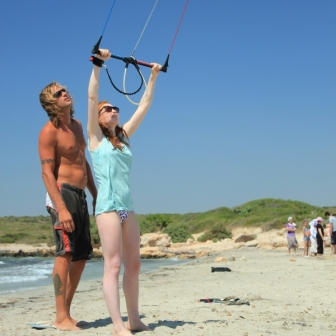 Learning to Kitesurf