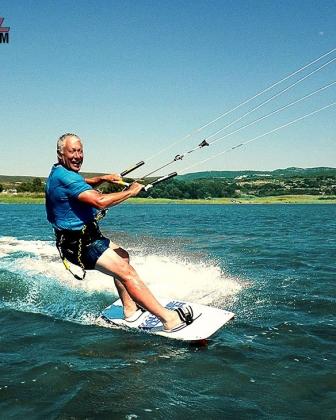 Anyone can learn to kitesurf